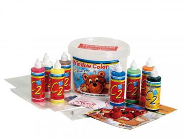 Window Color C2 'Power Pack' 8 flesjes + toebehoor