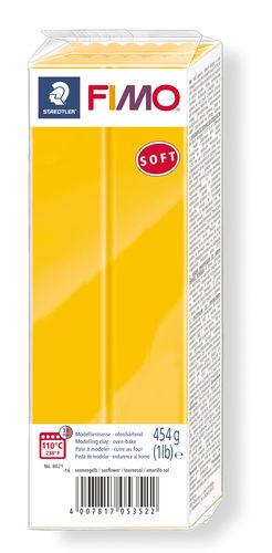 FIMO Soft conf. grande, 454g, giallo sole