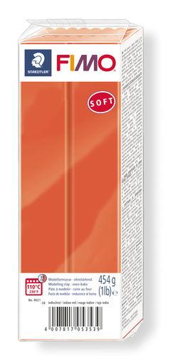 FIMO Soft conf. grande, 454g, rosso indio