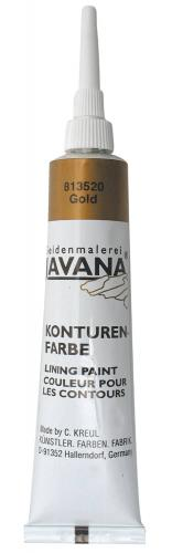 Pintura para contornos JAVANA®, 20 ml, oro