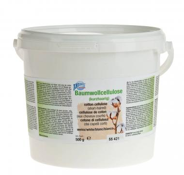 Katoen cellulose, superfijn, 500 g