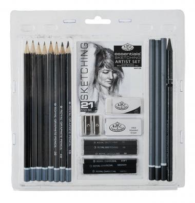 Set di grafite Sketching Artist, set da 21