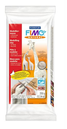 FIMO air natural, pasta da 350 g, bianco