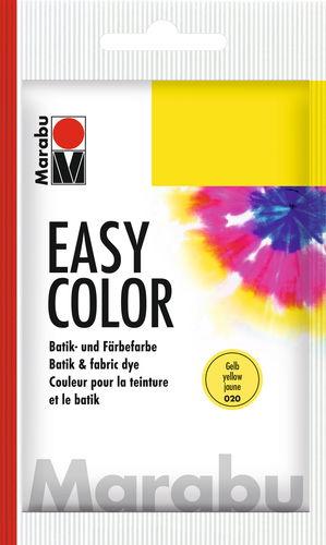 Marabu EasyColor batik-/textielverf, 25 g, geel