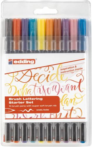 edding 1340 Brushpen 10er-Set
