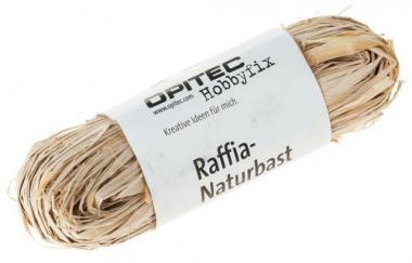Rafia natural, madeja de 50 g, natural