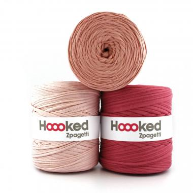 Trapillo HOOOKED Zpagetti (120 m) rosa, 1 ud.
