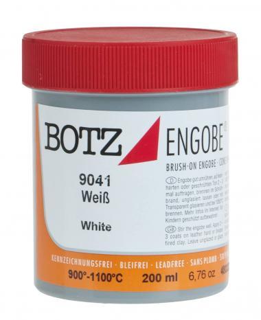 Flüssig-Engobe Botz, 200 ml weiß