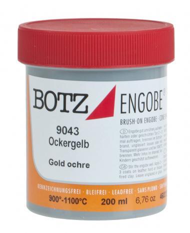 Flüssig-Engobe Botz, 200 ml ockergelb