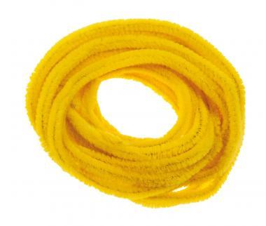 Scovolini 8 mm, 10 pezzi, 50 cm, giallo banana