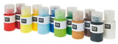 Set di colori acrilici 'Home Acryl Mini' (12x22ml)