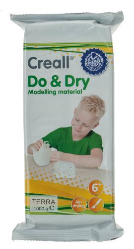 Masa ligera de modelar Creall, 1000 g, terracota