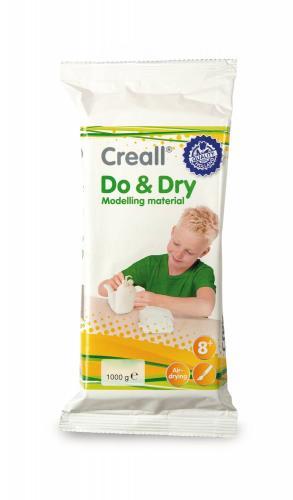 Creall Do&Dry-pasta modellabile, bianco, 1kg