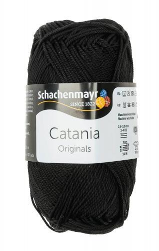 Filato 'Catania', 125m/50g, nero