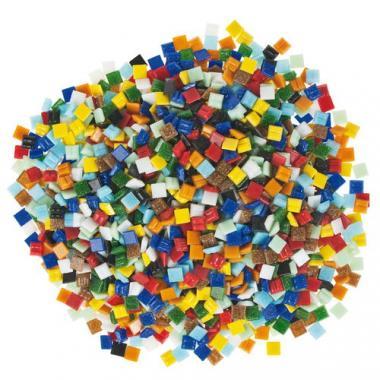Teselas de vidrio (10 x 10 mm) 1 kg