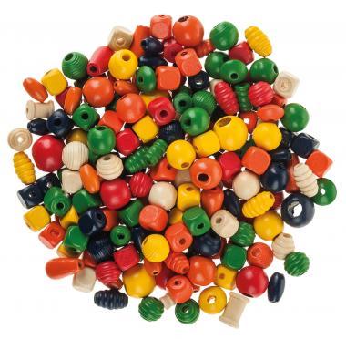 Perlas de madera (2ª selección) 250 g