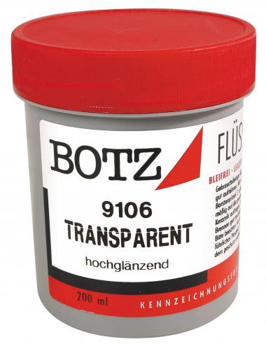 BOTZ-Smalto liquido, 200 ml, trasparente lucido