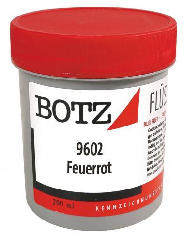 BOTZ-Smalto liquido, 200 ml, rosso fuoco brillante
