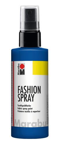 Marabu Fashion - Spray, 100 ml, azul marino