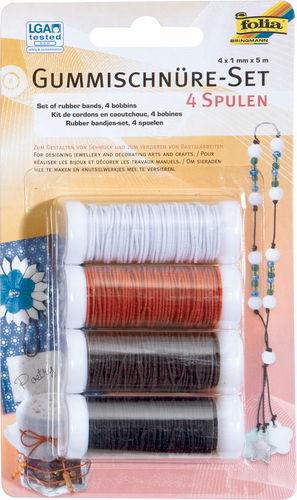 Set di cordoncini elastici, 4 pezzi