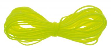 Cordón de nailon (5 m x 0,8 mm) amarillo neón