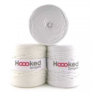 Trapillo HOOKED Zpagetti (120 m) blanco, 1 ud.