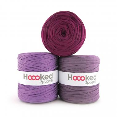 HOOOKED Zpagetti, 1 gomitolo, purple shades