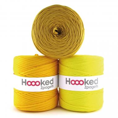 HOOOKED Zpagetti, 1 gomitolo, yellow shades
