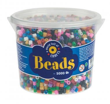 Perline da stiro, di plastica, standard, 5000 pz
