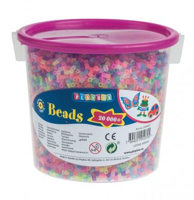 Perline da stiro, di plastica, luccicante,20.000pz