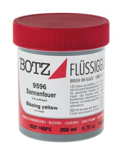 Esmalte líquido BOTZ, 200 ml. amarillo
