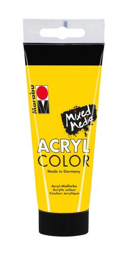 Marabu Mixed Media Acryl Color, amarillo, 100 ml