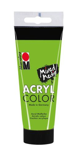 Marabu Mixed Media Acryl Color, verde hoja, 100 m