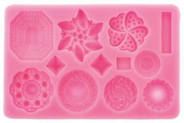 Stampo di silicone - diamanti