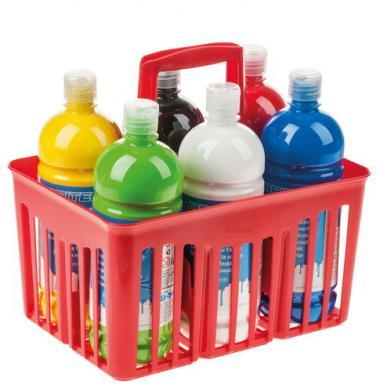 OPITEC Schulmalfarben, 6 Flaschen je 1000 ml