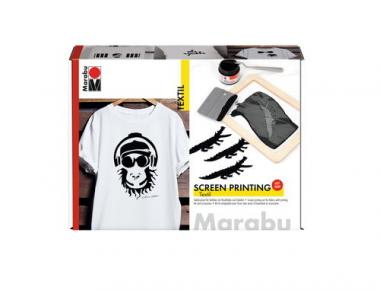 Kit de serigrafía - Marabú Screen Printing