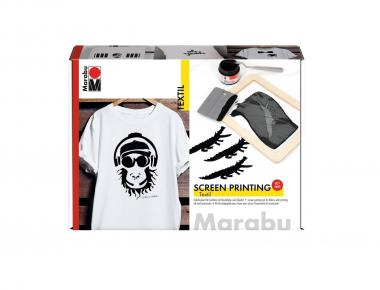 Marabu Textil Screen Printing, Siebdruck