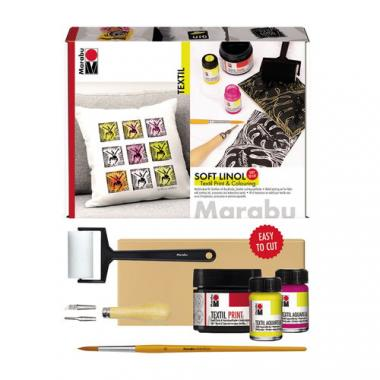 Kit de linograbado  - Marabu Screen Printing