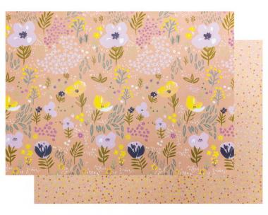 Rico Design® cartoncino con motivi - rosa/lilla