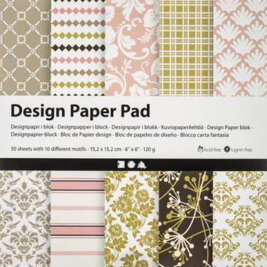 Blocco con motivi - Design Paper Pad