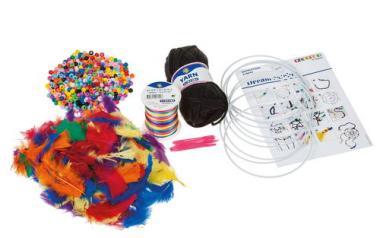 Kit de manualidades para 10 atrapasueños