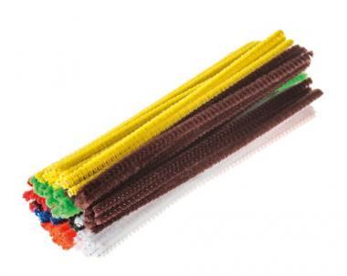 Escobillones de colores surtidos (3 mm) 100 ud.