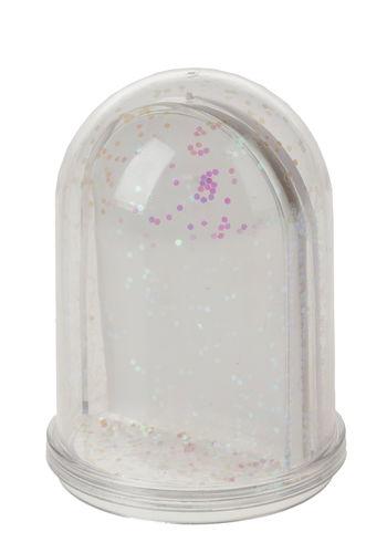 Sfera portafoto, con glitter, ø 50 x 75 mm