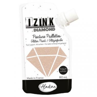 IZINK DIAMOND - colori luccicanti, oro/rame