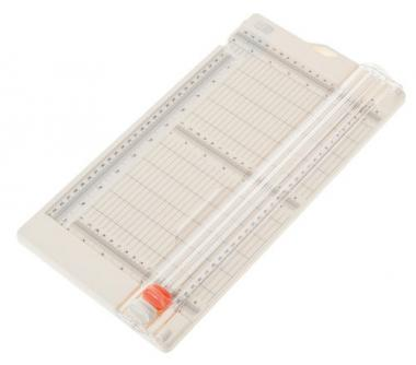 Papierschneide-/Falzmaschine (391x203x27mm)