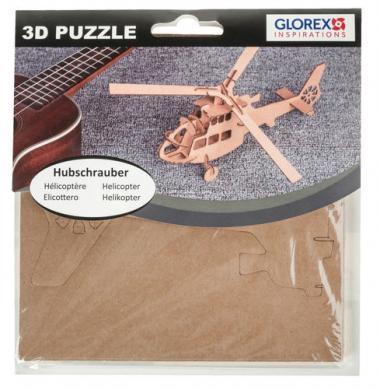 Puzzle 3D in cartoncino - elicottero