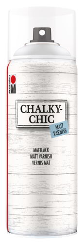Chalky-Chic Sprühfarbe Marabu,400 ml Mattlack
