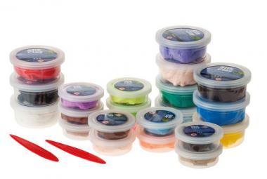 Silk Clay klei XL (12x 14g/10x 40g) basic kleuren