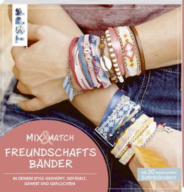 Buch 'Mix & Match Freundschaftsbänder'