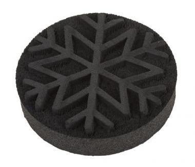 Schaumstoffstempel Schneeflocke (80 mm)